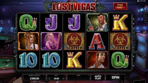 Lost Vegas review on Big Bonus Slots