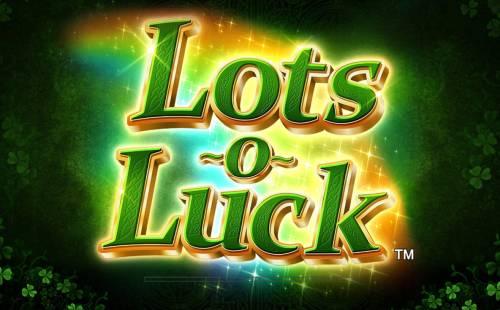 Lots o Luck review on Big Bonus Slots
