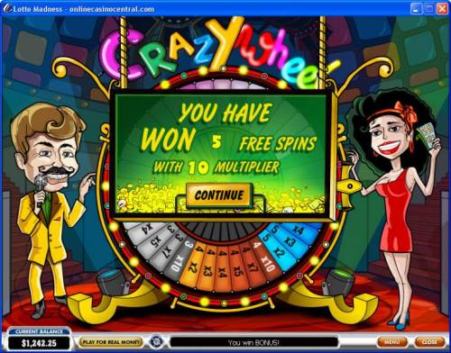 Lotto Madness review on Big Bonus Slots