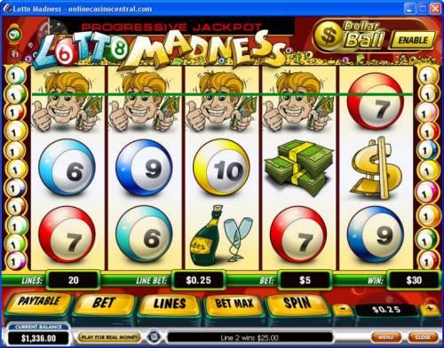 Lotto Madness Big Bonus Slots
