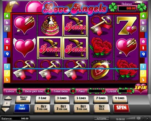 Love Angels review on Big Bonus Slots