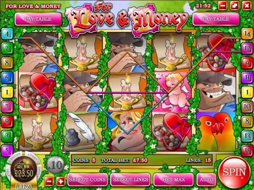 Love and Money review on Big Bonus Slots