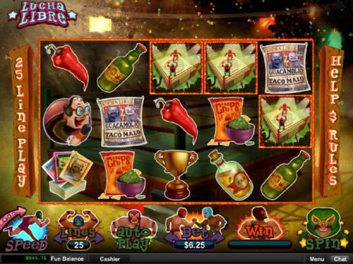 Lucha Libre review on Big Bonus Slots