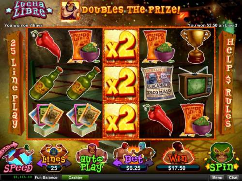 Lucha Libre review on Big Bonus Slots