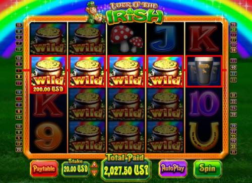 Luck O' the Irish review on Big Bonus Slots