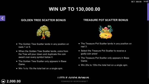 Lucky Little Gods review on Big Bonus Slots