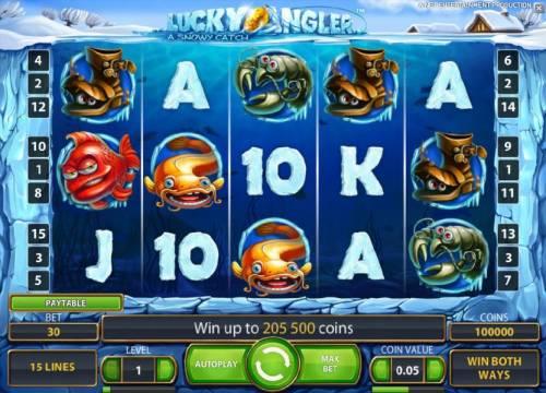 Lucky Angler review on Big Bonus Slots