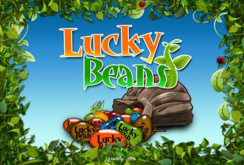 Lucky Beans Big Bonus Slots Splash screen - game loading