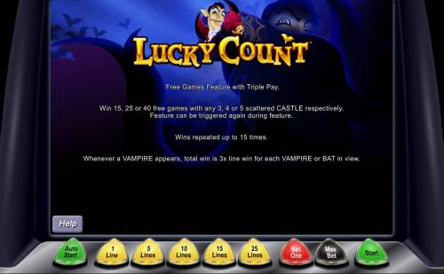 Lucky Count review on Big Bonus Slots