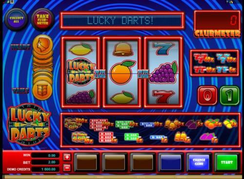 Lucky Darts review on Big Bonus Slots