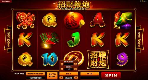 Lucky Firecracker review on Big Bonus Slots