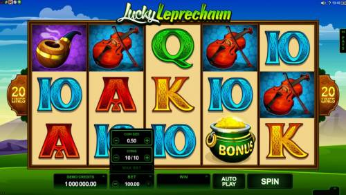 Lucky Leprechaun review on Big Bonus Slots