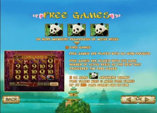 Lucky Panda review on Big Bonus Slots