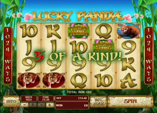 Lucky Panda review on Big Bonus Slots