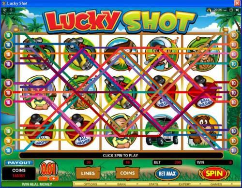 Lucky Shot review on Big Bonus Slots