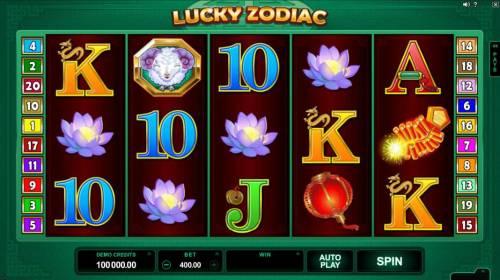 Lucky Zodiac review on Big Bonus Slots