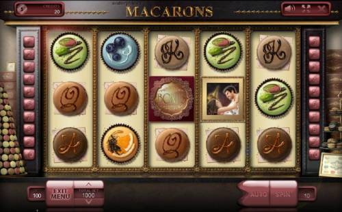 Macarons review on Big Bonus Slots