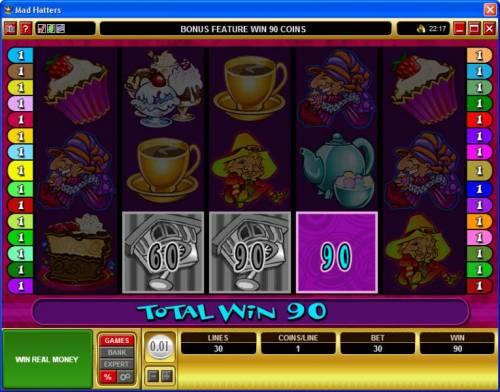 Mad Hatters review on Big Bonus Slots