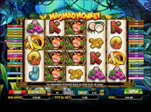 Mad Mad Monkey review on Big Bonus Slots