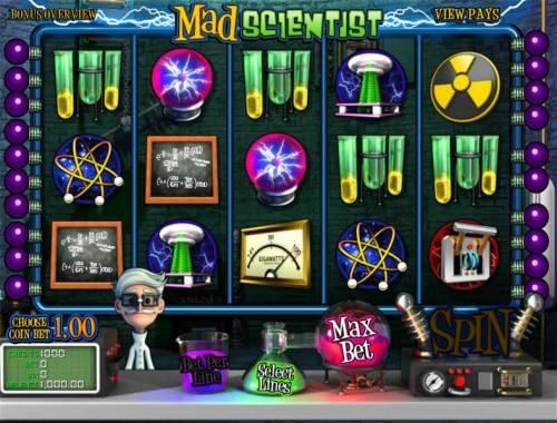 Mad Scientist review on Big Bonus Slots