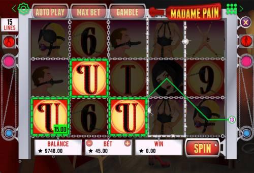 Madame Pain review on Big Bonus Slots