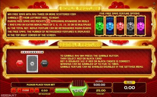 Magic Dragon review on Big Bonus Slots