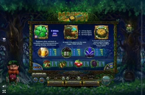 Magic Pot review on Big Bonus Slots