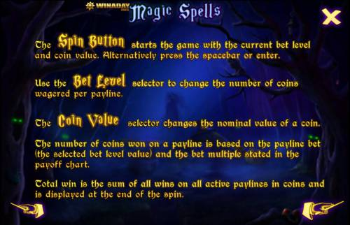 Magic Spell review on Big Bonus Slots