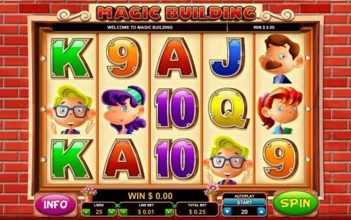 Magic Building review on Big Bonus Slots