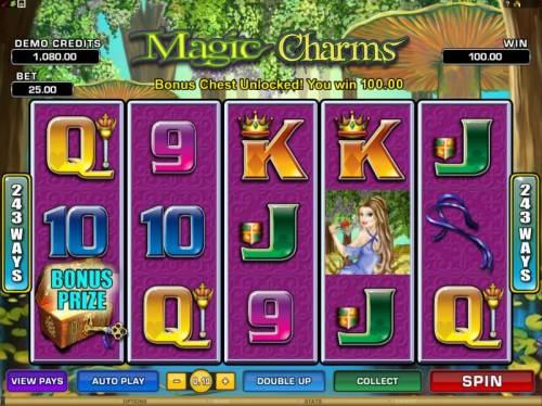 Magic Charms review on Big Bonus Slots