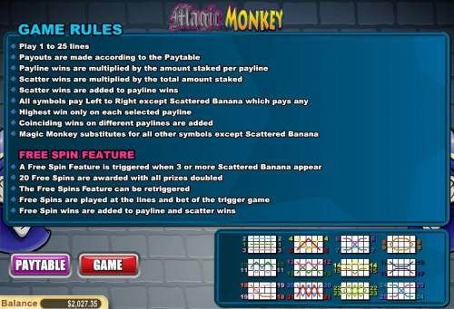 Magic Monkey review on Big Bonus Slots