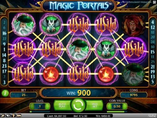 Magic Portals review on Big Bonus Slots
