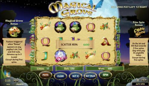 Magical Grove review on Big Bonus Slots