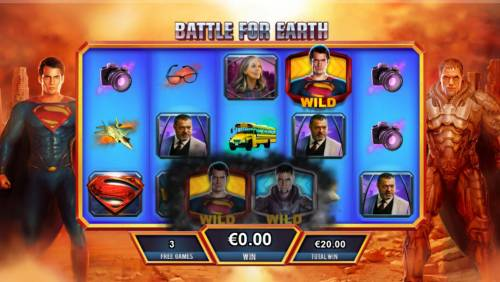 Man of Steel review on Big Bonus Slots