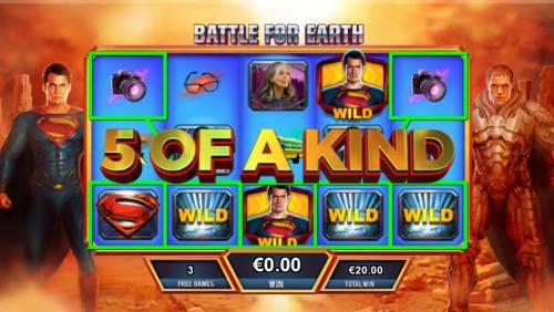 Man of Steel review on Big Bonus Slots