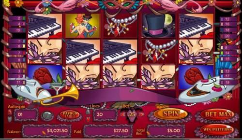 Masquerade Ball review on Big Bonus Slots