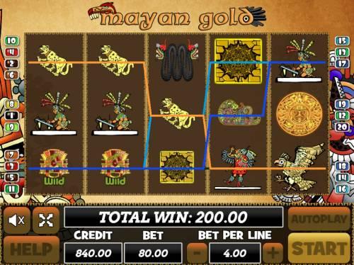 Mayan Gold review on Big Bonus Slots