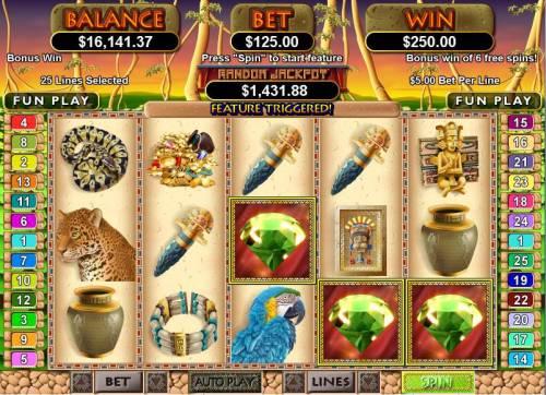 Mayan Queen review on Big Bonus Slots