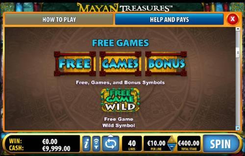 Mayan Treasures review on Big Bonus Slots