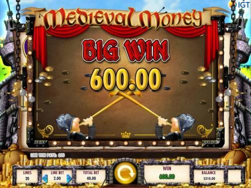 Medieval Money review on Big Bonus Slots