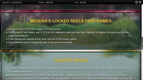 Medusa II Jackpots review on Big Bonus Slots