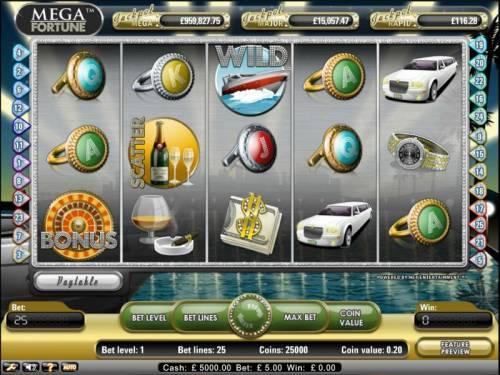 Mega Fortune review on Big Bonus Slots