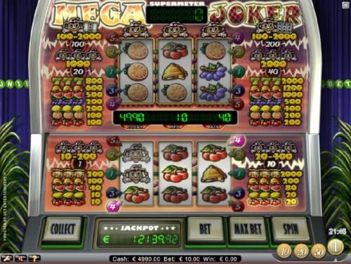 Mega Joker review on Big Bonus Slots