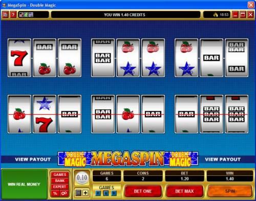 MegaSpin - Double Magic review on Big Bonus Slots