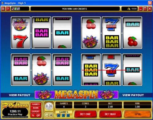 MegaSpin - High 5 review on Big Bonus Slots