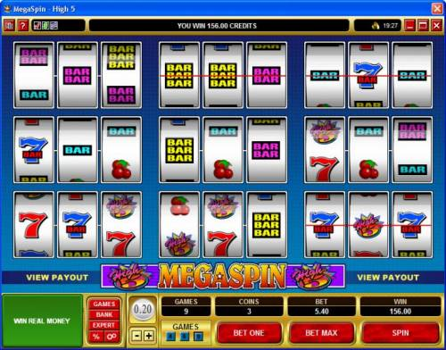 MegaSpin - High 5 review on Big Bonus Slots