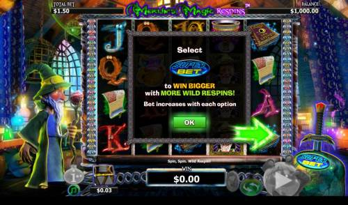 Merlin's Magic Respins review on Big Bonus Slots