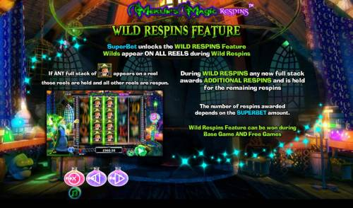 Merlin's Magic Respins review on Big Bonus Slots