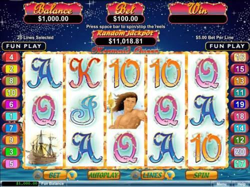 Mermaid Queen review on Big Bonus Slots