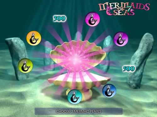 Mermaids of the 7 Seas Big Bonus Slots 800 coin awarded as part of the bonus feature.